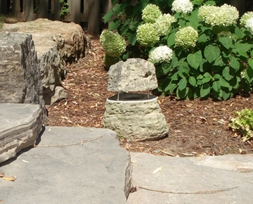 Natural Stone Path Light